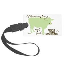 max friend not food32 Luggage Tag
