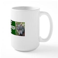 Protect Endangered Wolves CafePress fix Mug