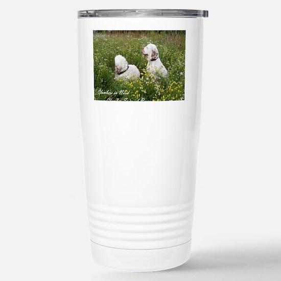 CINClumbersCvr Stainless Steel Travel Mug