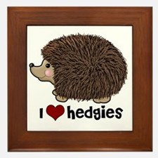 hearthedgies Framed Tile