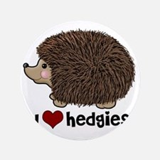 """hearthedgies 3.5"""" Button"""