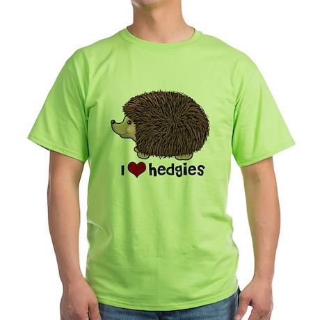 hearthedgies Green T-Shirt