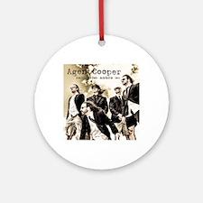 Agent Cooper EP Round Ornament