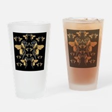bees square Drinking Glass