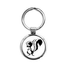 skunkworks_logo copy Round Keychain