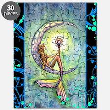 mermaid moon journal Puzzle