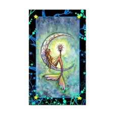mermaid moon journal Rectangle Car Magnet