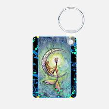 mermaid moon journal Keychains
