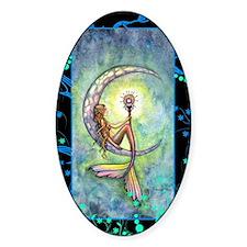 mermaid moon journal Decal
