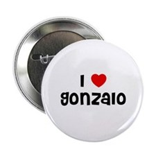 """I * Gonzalo 2.25"""" Button (10 pack)"""