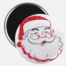 Smiling Santa Face Magnet