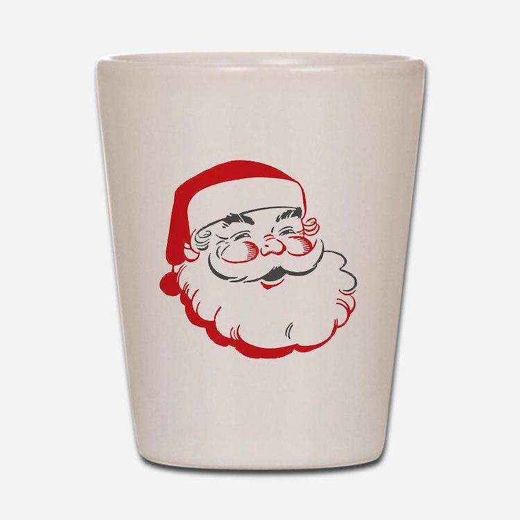 Santa Shot Glass