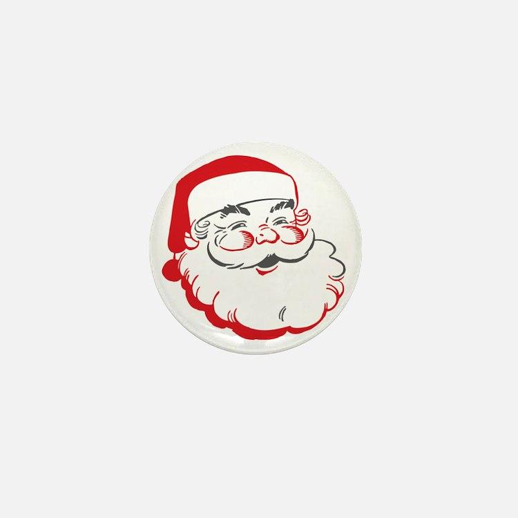 Santa Mini Button