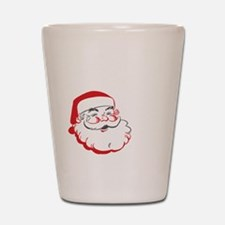 Whos Your Santa Shot Glass