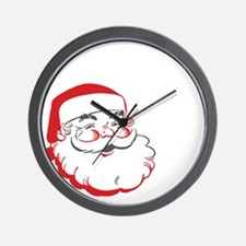 Whos Your Santa Wall Clock