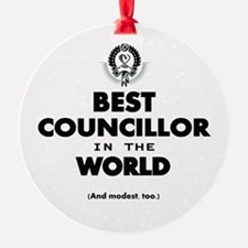 The Best in the World – Councillor Ornament