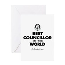 The Best in the World – Councillor Greeting Cards