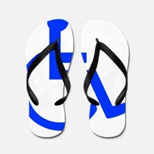 handicapped yard Flip Flops