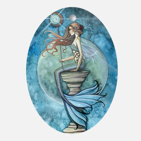 Jade Moon cp Oval Ornament