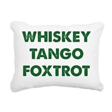 WhiskeyTango1D Rectangular Canvas Pillow