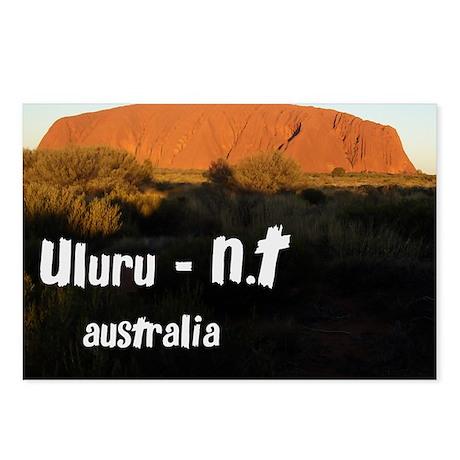 uluru2 Postcards (Package of 8)