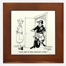 5469_relationship_cartoon Framed Tile