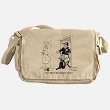 5469_relationship_cartoon Messenger Bag