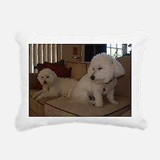 MonetChiclet Rectangular Canvas Pillow
