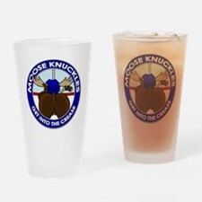 mooseknuckles1 Drinking Glass
