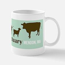 animal friends sticker Mug
