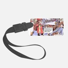 christmasoutsourced200 Luggage Tag