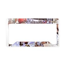christmasoutsourced200 License Plate Holder