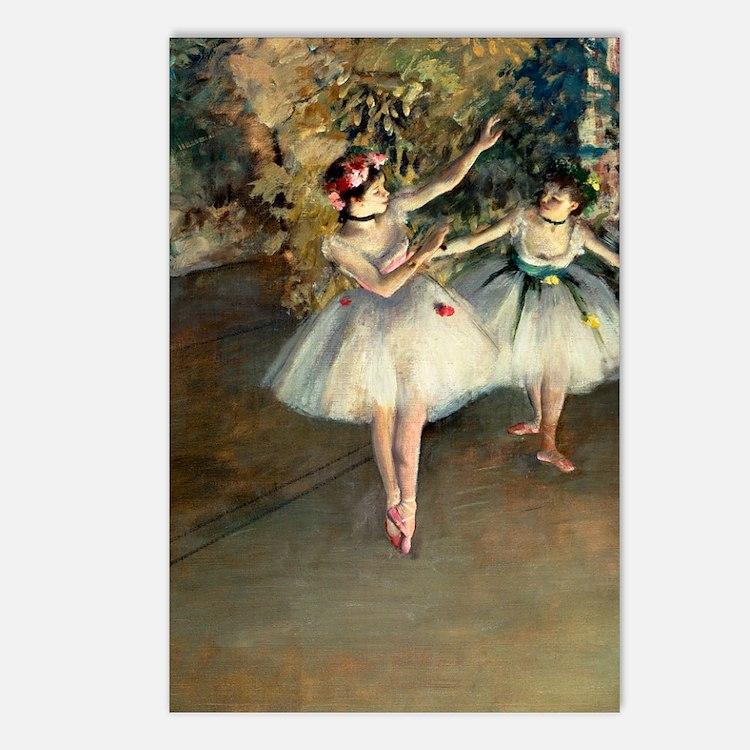 Journal Degas 2Dan Postcards (Package of 8)