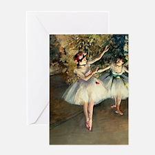 K/N Degas 2Dan Greeting Card