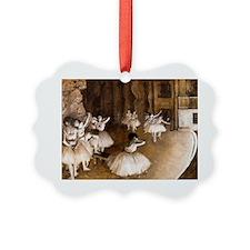 NC Degas Ballet Reh Ornament