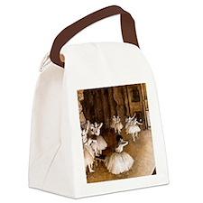 NC Degas Ballet Reh Canvas Lunch Bag