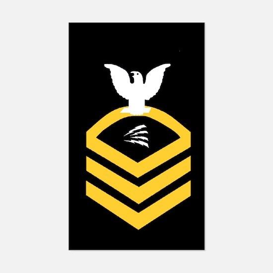 Navy ITC<BR> Sticker 1