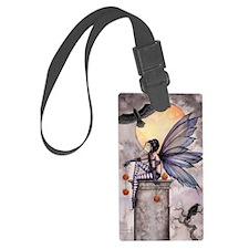 Autumn Raven Luggage Tag