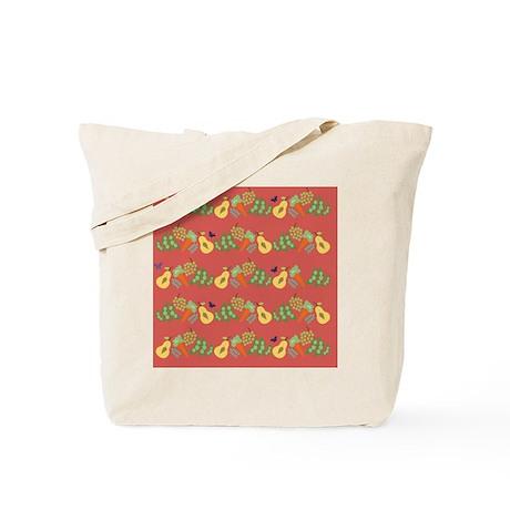 coaster-fruitsandveg Tote Bag