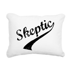 skeptic Rectangular Canvas Pillow