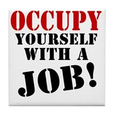 Occupy-Yourself Tile Coaster