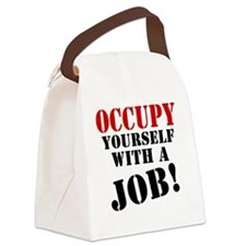 Occupy-Yourself Canvas Lunch Bag