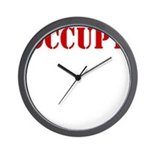 Occupy-Yourself-White Wall Clock