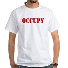 Occupy-Yourself-White Shirt