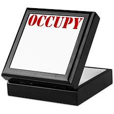Occupy-Yourself-White Keepsake Box