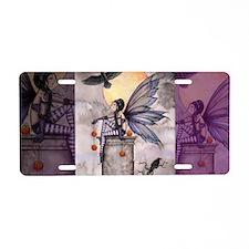 autumn raven shoulder bag c Aluminum License Plate