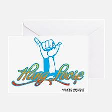 hangloose-10x10-white Greeting Card