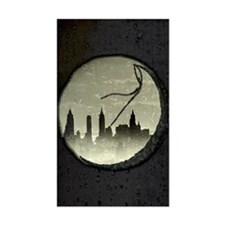 Moon Over Manhattan Decal