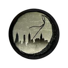 "Moon Over Manhattan 3.5"" Button"