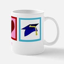 peacelovegraduatewh Small Small Mug
